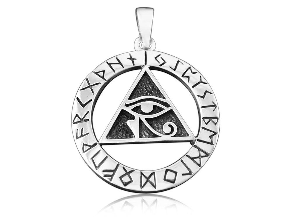 Eye of Horus Norse Necklace