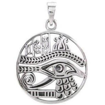 Eye of Horus Symbols Necklace