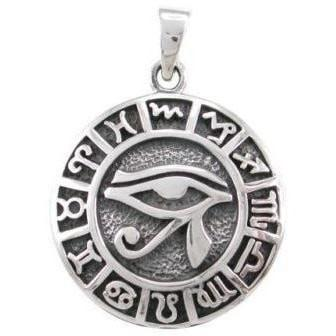 Eye of Horus Zodiac Necklace