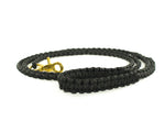 Braided Paracord 550 Leash - Black