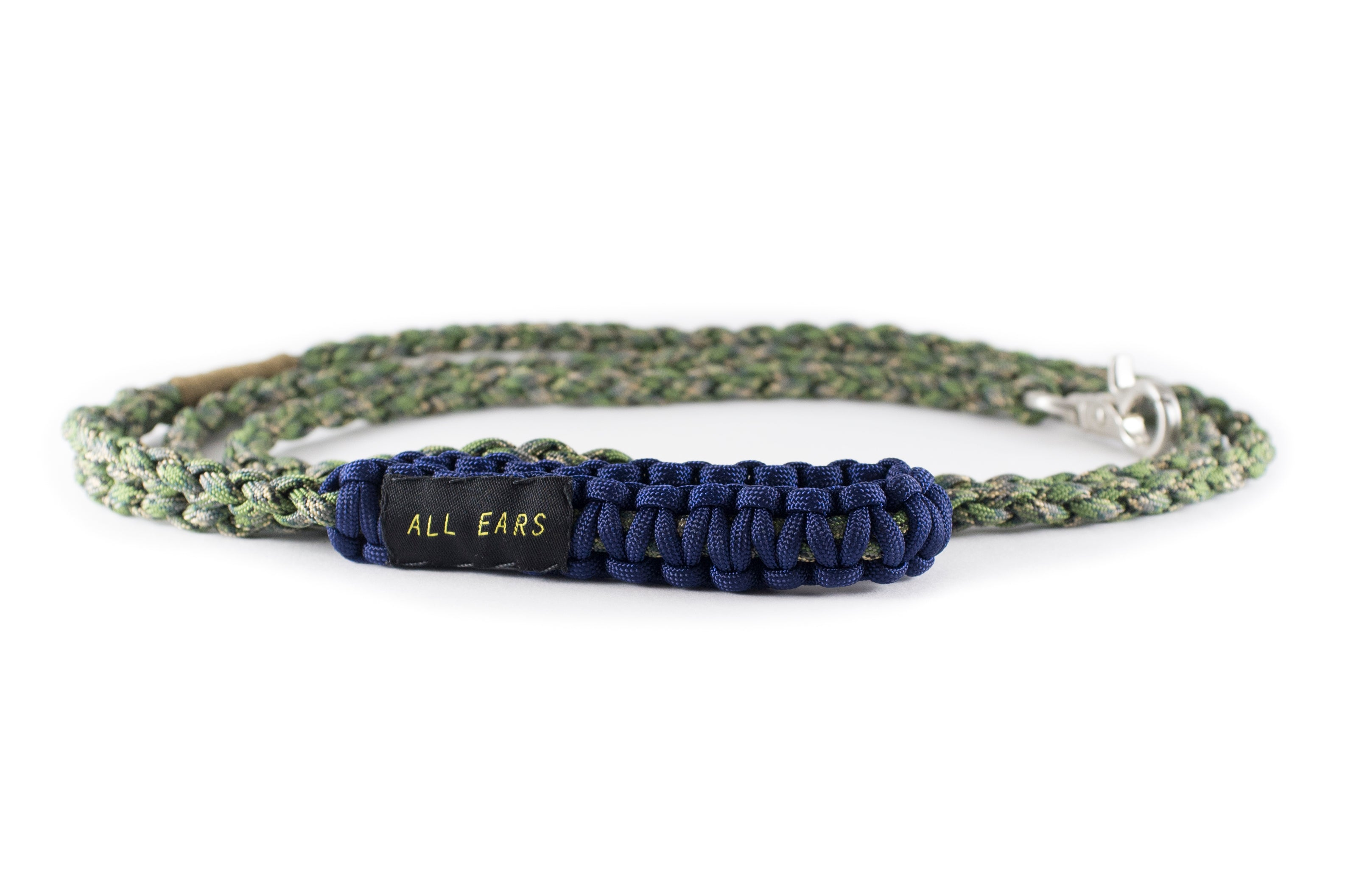 Braided Paracord 550 Leash - Forrest Camo