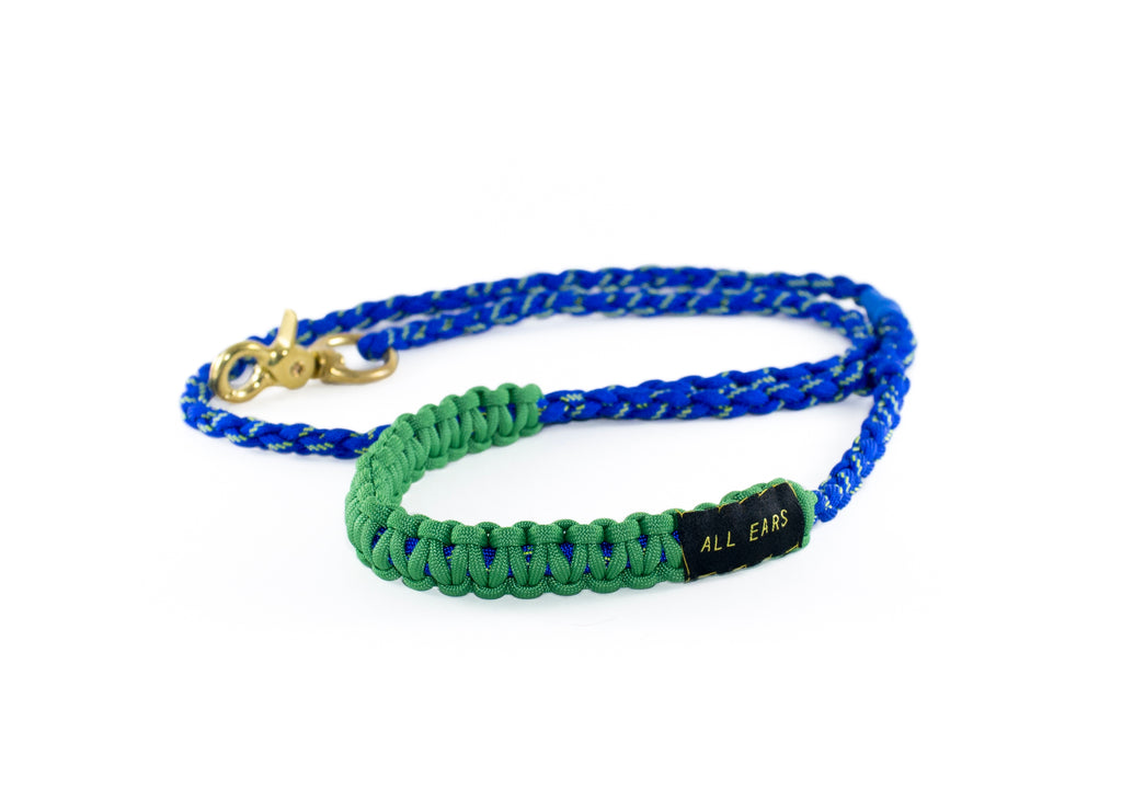 Paracord 550 Leash - Blue Illusion