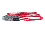 Cat Leash Braided Paracord 550 - Imperial Red