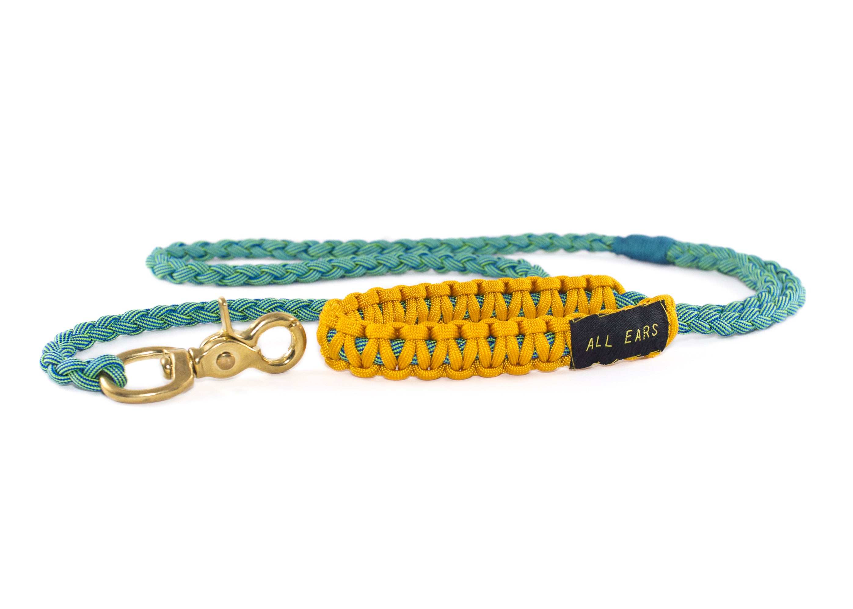 Braided Paracord 550 Leash - Electro Shock