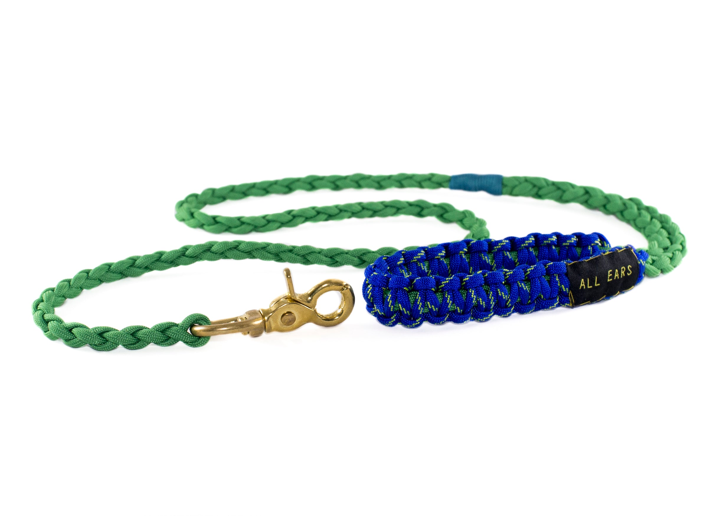 Paracord 550 Leash - Kelly Green