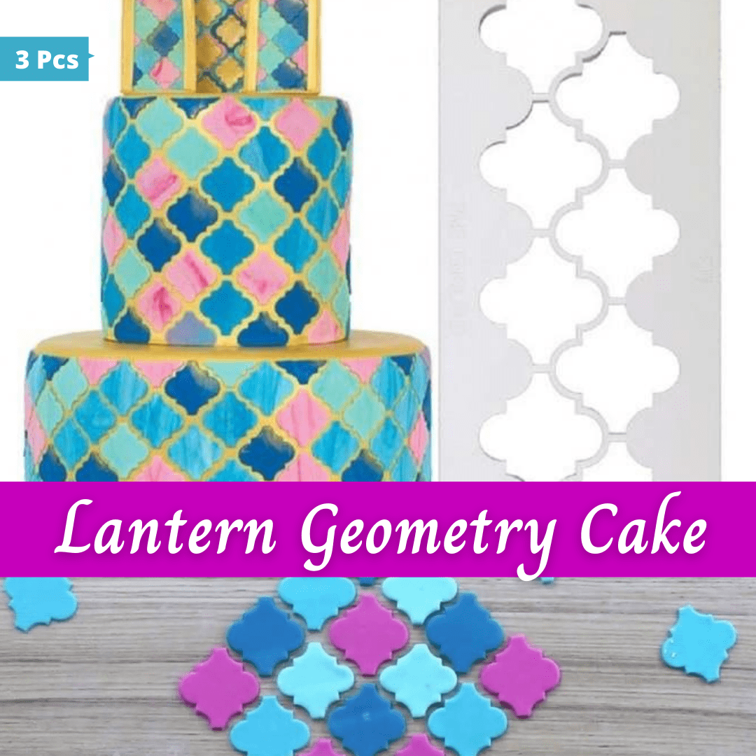Trendy Gem Baking Accessories Geometry Cake Cutters