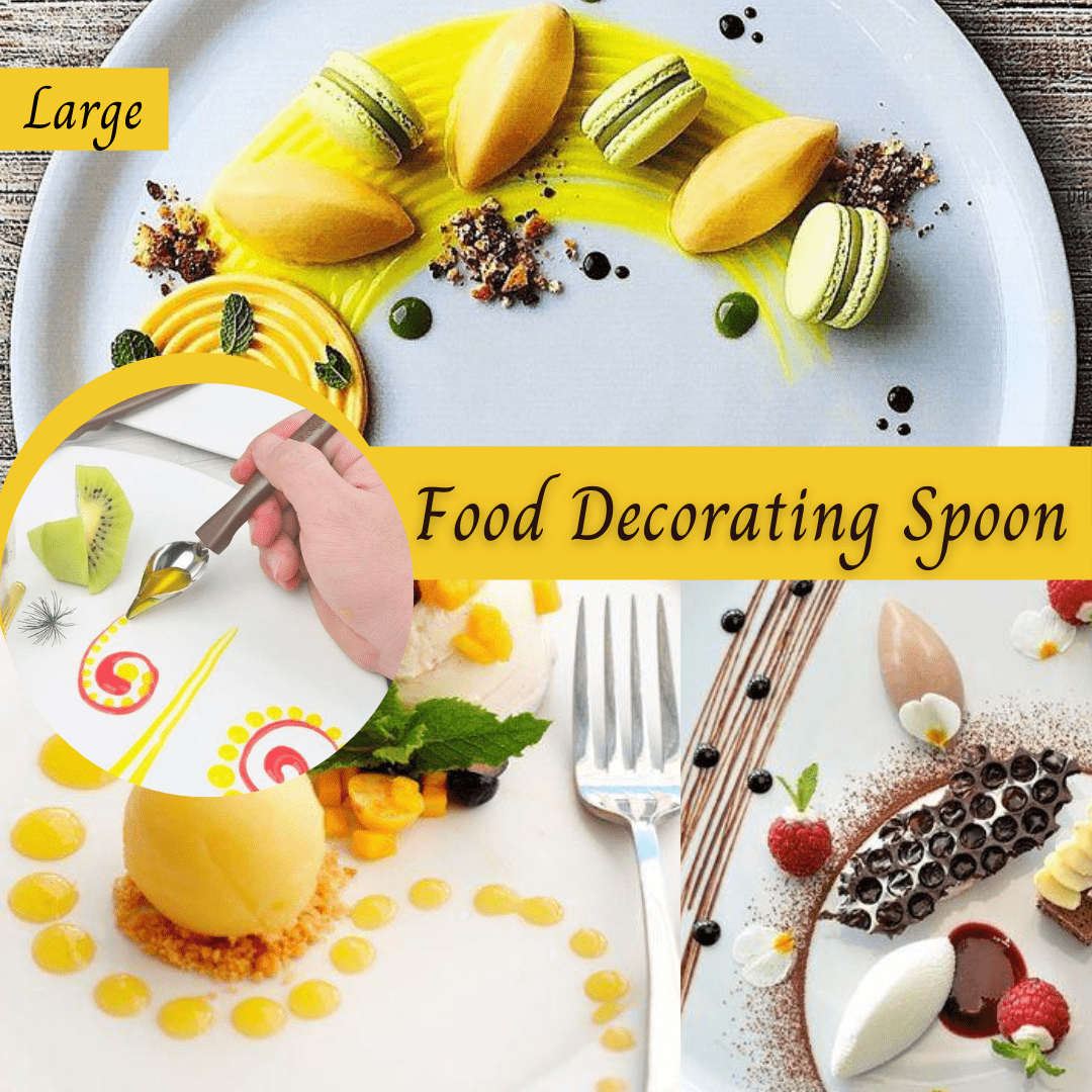 Trendy Gem Decorating Tools Large size Magical™ Cake Spoons