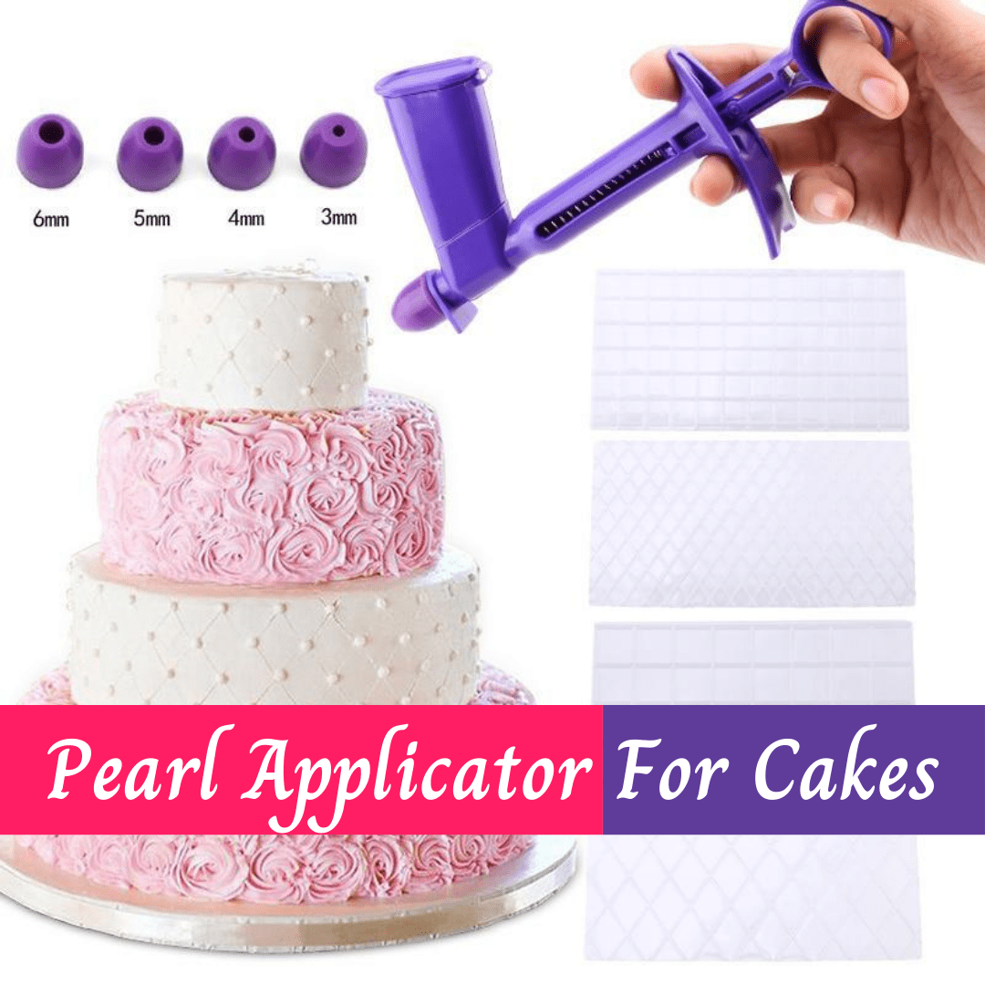 Pearl Applicator For Cakes