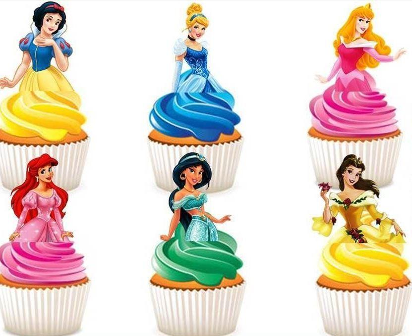 Trendy Gem Liners & Toppers Disney Cupcake Toppers