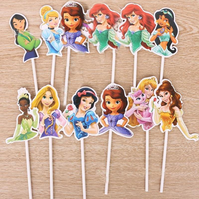 Disney Cupcake Toppers