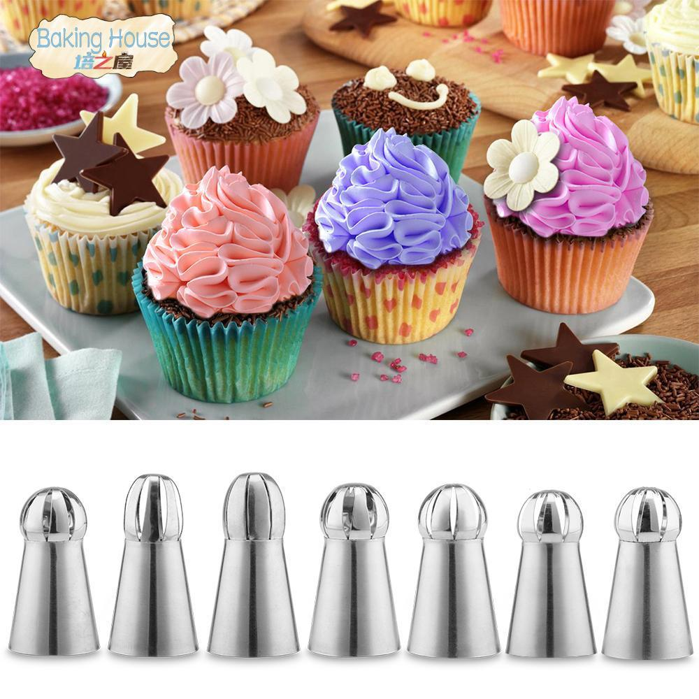Trendy Gem Piping Bags & Tips Ball Nozzles Kit