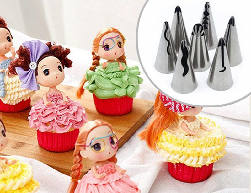 Trendy Gem Piping Bags & Tips Complete Nozzles Kit [81 PCs]