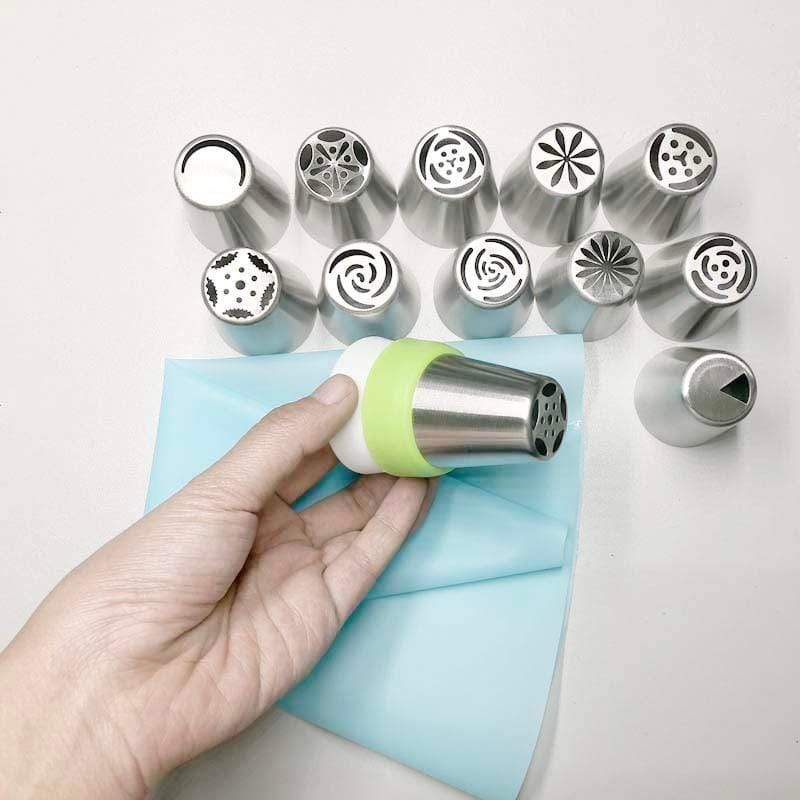 Trendy Gem Piping Bags & Tips TrendyGem™️ Flower Nozzle Kit