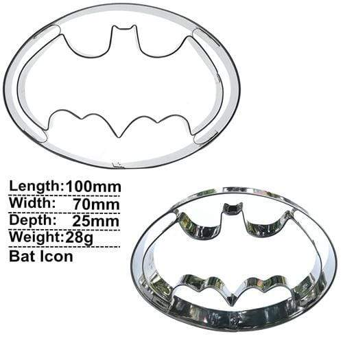 Trendy Gem Silicone Moulds Bat Icon Super Hero Cake Mould