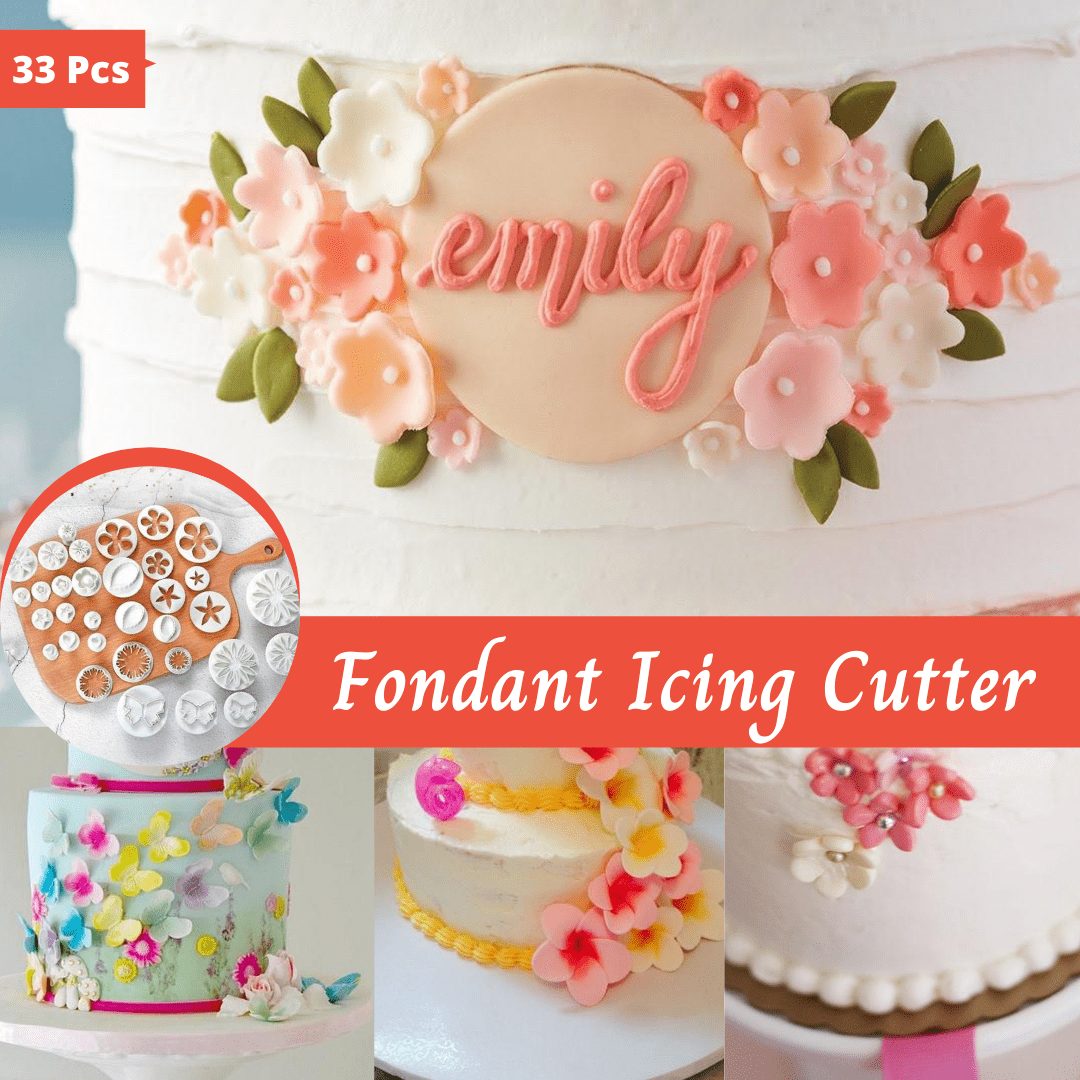 Trendy Gem Silicone Moulds Fondant Icing Cutter
