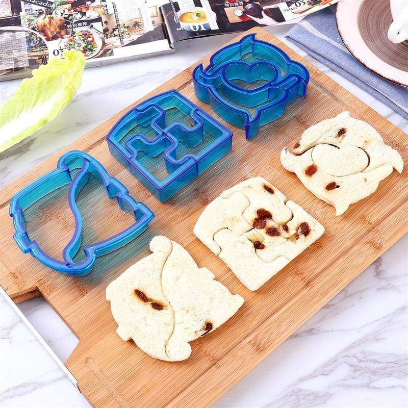 Trendy Gem Silicone Moulds Funky Sandwich Cut-Outs Set