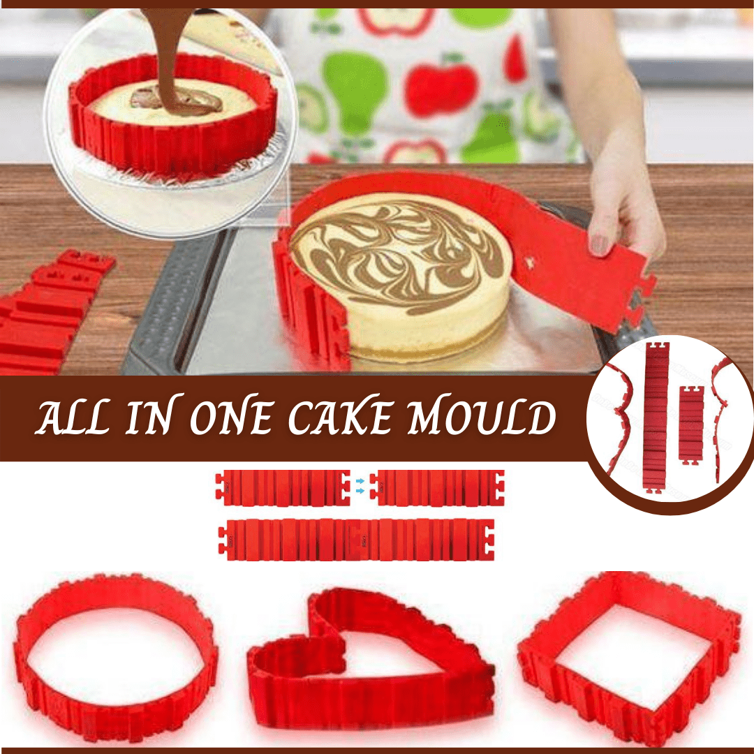 Perfect All in One Cake Molder Tool