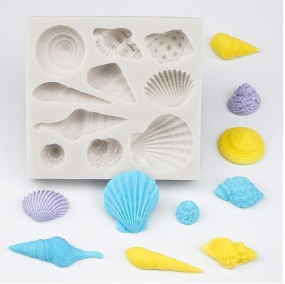 Trendy Gem Silicone Moulds Type 14 3D Mermaid Tail Mould