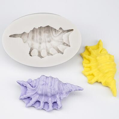 Trendy Gem Silicone Moulds Type 8 3D Mermaid Tail Mould