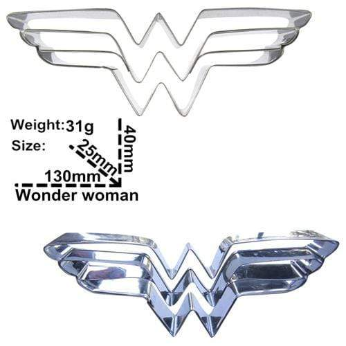 Trendy Gem Silicone Moulds Wonder Woman Super Hero Cake Mould