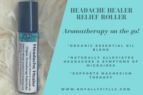 Headache Healer Aromatherapy Topical Relief Roller