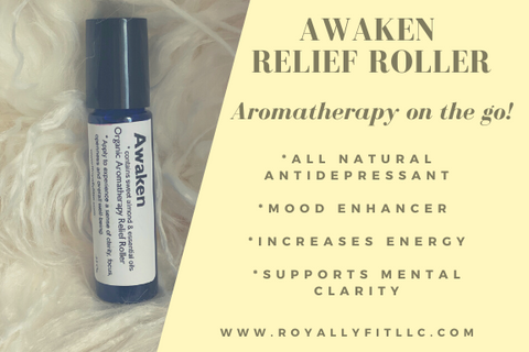 Awaken Aromatherapy Topical Relief Roller