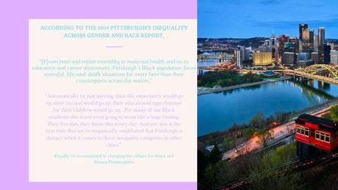 Answer to Pittsburgh's Gender Equity Report Royally Fit Community Wellness Program