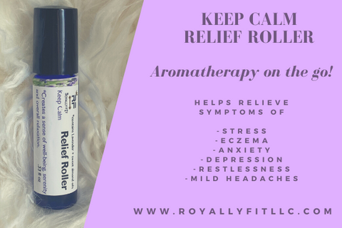 Keep Calm Aromatherapy Topical Relief Roller