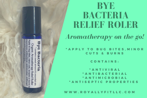 Bye Bacteria Aromatherapy Topical Relief Roller