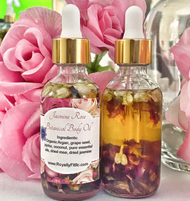 Jasmine Rose Botanical Body Oil - Royally Fit