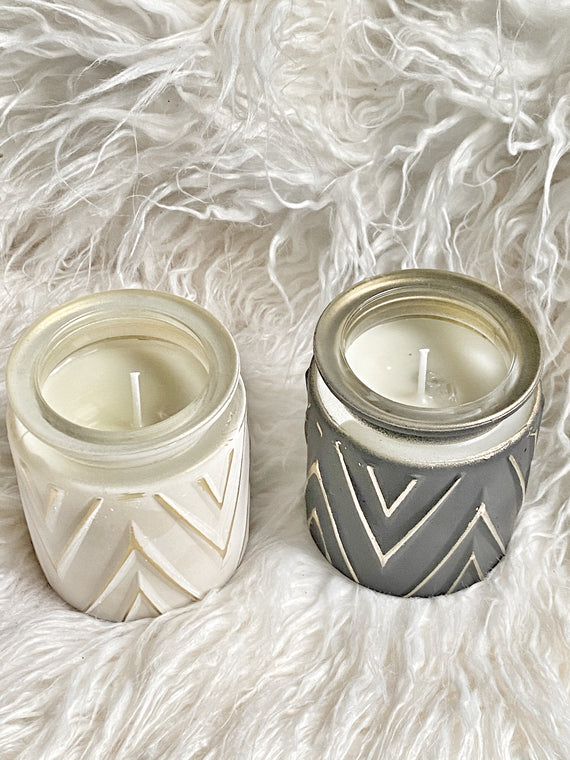 Duality Candle Set for Affirmation, Meditation, Home going, Healing - Royally Fit