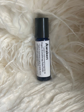Awaken Uplifting Aromatherapy Topical Relief Roller - RoyallyFit