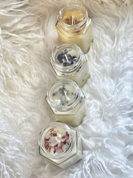 Sampler Set-Mini Herbal Healing Massage Butter Candles - RoyallyFit