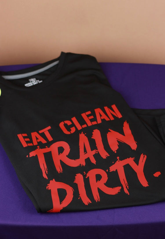 """Eat Clean"" Men's Performance Shirt"