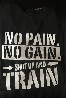 """No Pain No Gain"" Men's Drifit Shirt"