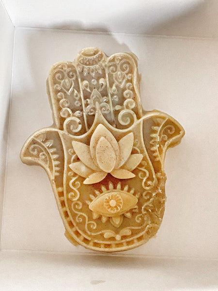 Hamsa Healing Hands Massage Butter Bar