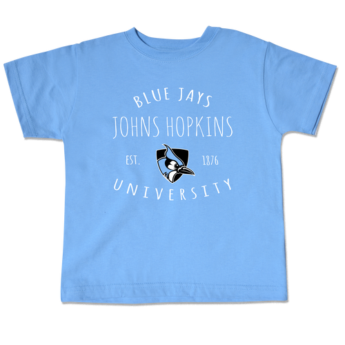 Johns Hopkins Blue Jays Toddler Short Sleeve Tee