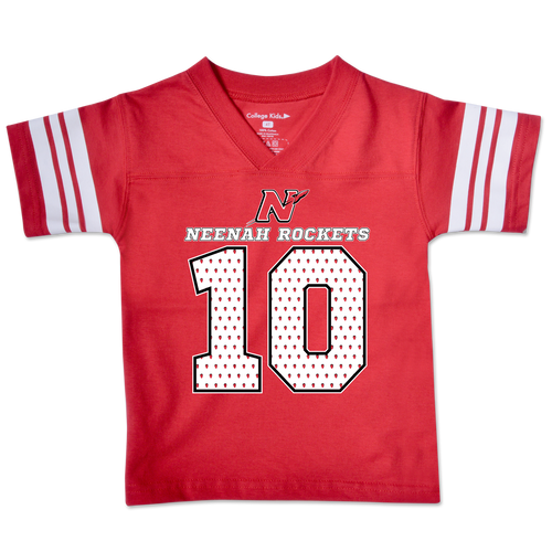 Neenah High School Rockets Toddler Football Tee