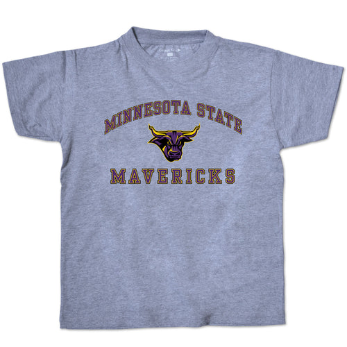 Minnesota State Mavericks Youth Short Sleeve Tee