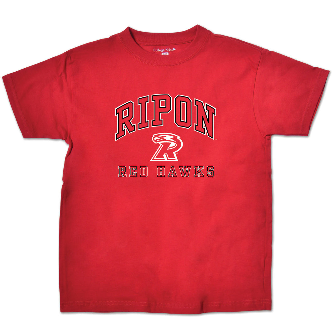Ripon College Red Hawks Youth Short Sleeve Tee