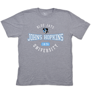 Johns Hopkins Blue Jays Adult Short Sleeve Tee