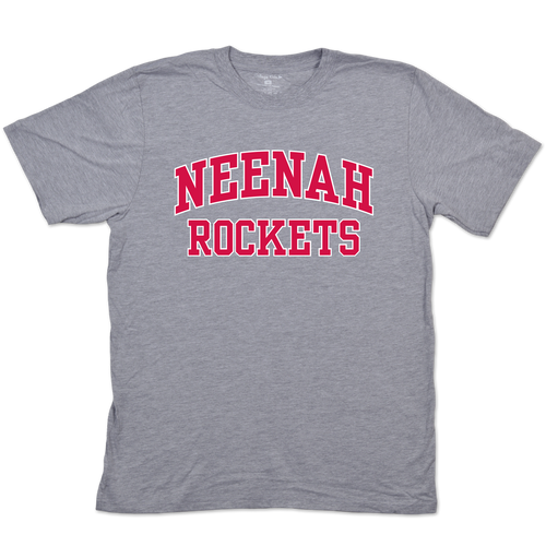 Neenah High School Rockets Adult Short Sleeve Tee