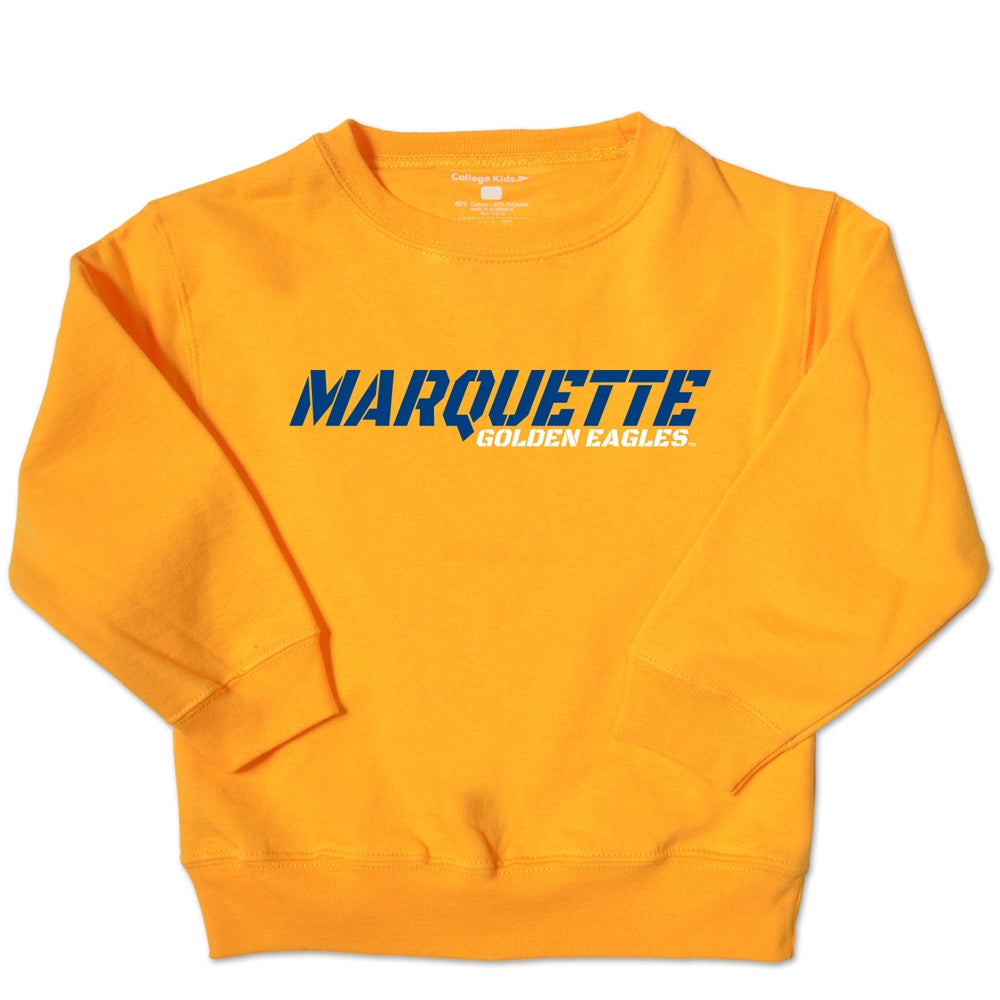 Marquette Golden Eagles Toddler Crew Sweatshirt