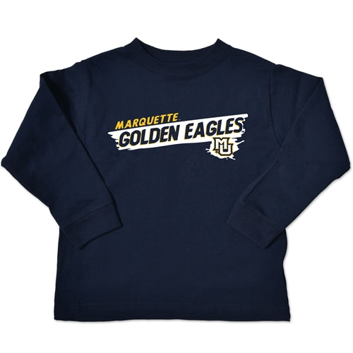 Marquette Golden Eagles Toddler Long Sleeve Tee