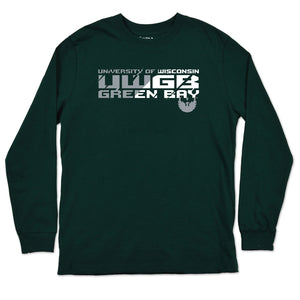UWGB Phoenix Youth Long Sleeve Tee Shirt