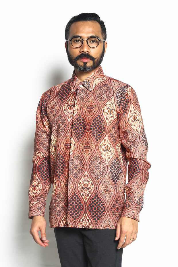 Wd Batik Long Sleeve 08