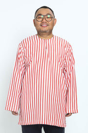 Kurta Meerza in Red