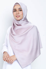 Basic Matte Satin Shawl in Blush