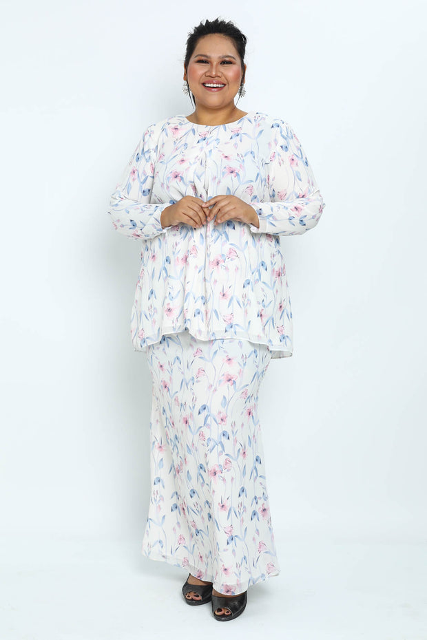 Baju Kurung Shifaa Ptd in White