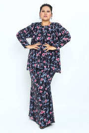 Baju Kurung Shifaa Ptd in Dark Blue